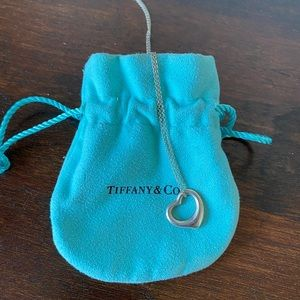 Tiffany & Co. Heart Pendent Necklace